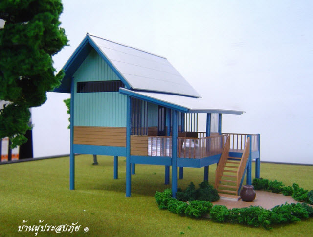 House design plan thailand home design for How to build a retirement home